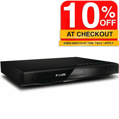 Philips DVP2880 DVD CD Disc player HDMI 1080p/USB Port/Region free zone code all