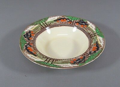 Myott China ENGLAND'S COUNTRYSIDE-SCALLOPED Rimmed Soup Bowl