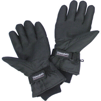 Battery Heated Thinsulate Gloves Size M or L Fishing Shooting, Skiing Motorcycle