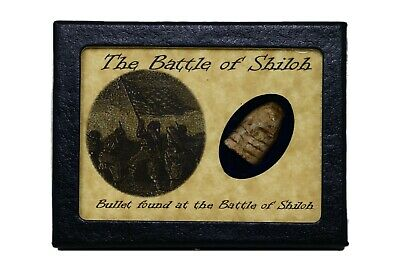 Shot Bullet From the Battle of Shiloh with Certificate of Authenticity