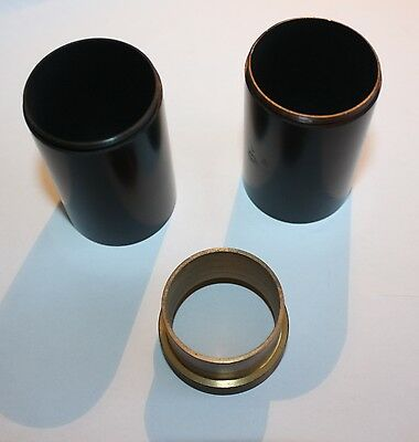 Nikon or Zeiss  microscope lens extension tubes adapters