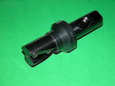 """SECO 1.25"""" Indexable Helical Milling Cutter Coolant Fed R235.15-01.25-3S-40A"""