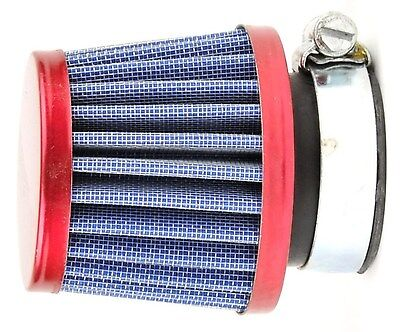 35mm Universal Air Filter Clamp On 50cc 2 Stroke Scooters Motorcycles ATVs