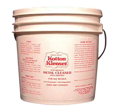 Kotton Klenser Heavy Duty Metal Cleaner Tarnish Remover For Metal 1 Gallon