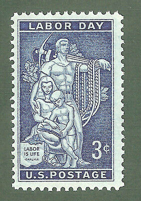1082 Labor Day US Single Mint/nh (Free Shipping)
