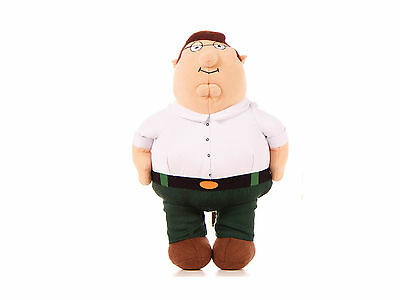 """New Official 9"""" Family Guy Peter Griffin Soft Toy Plush Family Guy Soft Toy"""