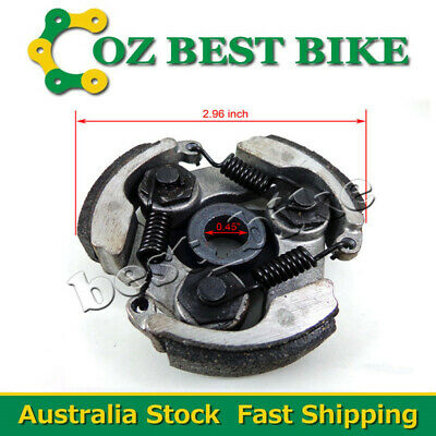 3 Shoes Clutch Pads Spring 43 47 49Cc Pocket Mini Super Dirt Bike Atv Quad