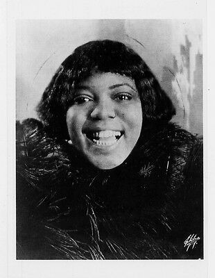Bessie Smith 1920 Blues Singer Archival Photograph by Elcha POSTCARD 4x6