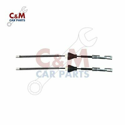 REAR HANDBRAKE CABLE PAIR for FORD FOCUS MK2 (drum brakes) 2005-2011 QH