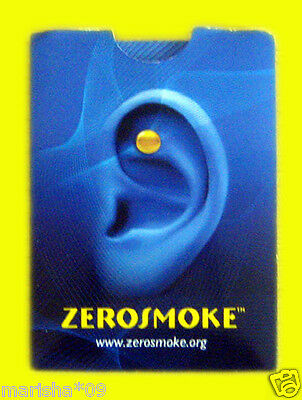 100% New Zerosmoke Stop Quit Smoking Weight Loss Acupressure Magnet Therapy