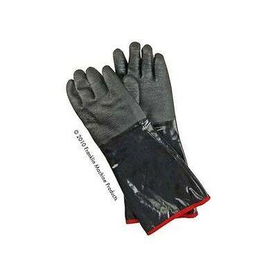"Gloves (Pair) Neoprene High Temp 450°F 18"" Cotton-lined Interior 133-1335"