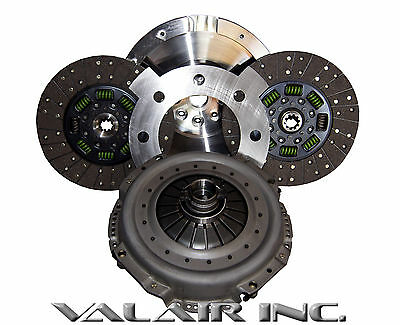 """QUIET"" Valair Organic Towing Dual Disc 600hp Clutch Dodge NV5600 6 Speed 00-05"