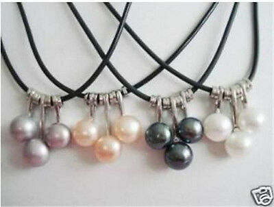 Wholesale WHOLESALE 4 SET 4 COLOR AKOYA CULTURED PEARL NECKLACE