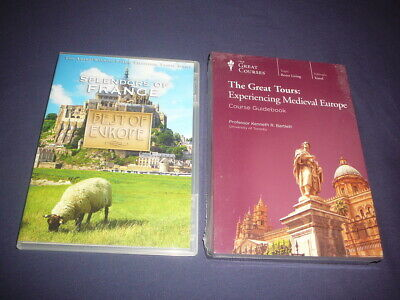 Teaching Co Great  Courses Tours DVDs      EXPERIENCING MEDIEVAL EUROPE  + bonus