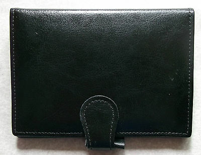 Leather Pocket File NEW + THE LONDON ORGANISER COMPANY + Diary