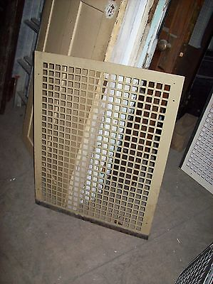large heater return covers painted   (G 50)