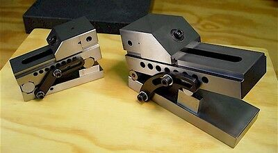 """Holiday Special Brand New 3"""" Precision Sine Vise And 2"""" Precision Sine Vise"""