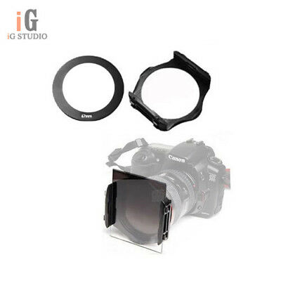 67mm ring Adapter + Color Colour square Filter Holder for Cokin P series