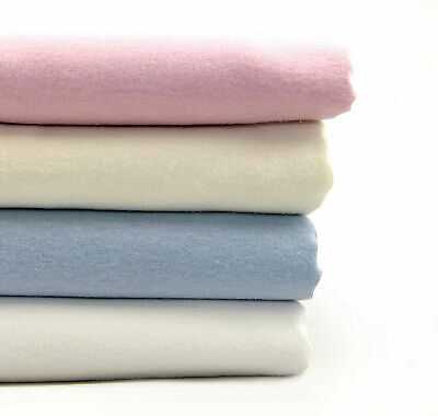 Love2Sleep 100% BRUSHED COTTON SOFT FLANNELETTE SHEET SET - PLAIN COLOURS