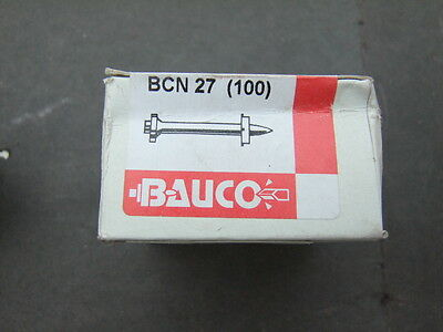 Bauco BCN Series Hilti type GP Nails - 22mm to 72mm ( Suit DX460 ) Boxed 100s