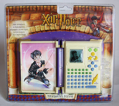VINTAGE 2001 HARRY POTTER BOOK OF SPELLS ELECTRONIC AGENDA TIGER HASBRO NEW MOSC