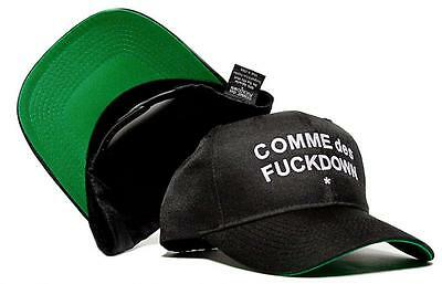 1e753118ce5672 New COMME des FUCKDOWN Snapback Curved Bill Hat Cap Baseball Snapback