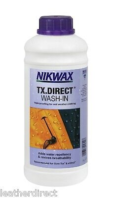 Nikwax TX.Direct Wash-In Wash-in waterproofing for wet weather clothing UK Free