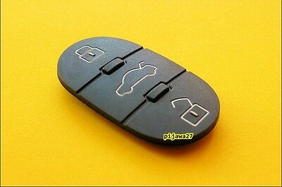3 Button RUBBER Key PAD 4 Remote Fob 4 Audi A1 A2 A3 A4 A5 A6 Q5 Q7 TT RS R8 S3
