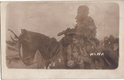 Nigeria - Carte Photo De 1916 - Waiva - Sorcier - Wizard.