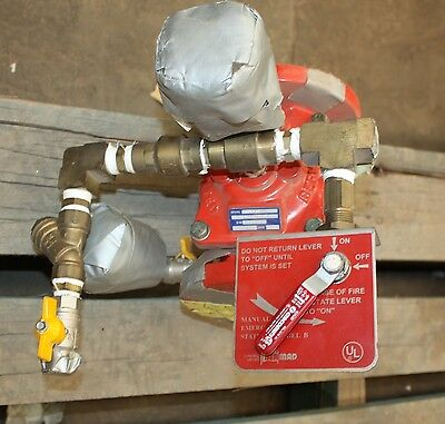 """Bermad 400E-00 type 1 2"""" Inch 50mm hydraulical controlled fire deluge valve"""