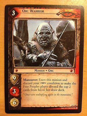 Lord of  Rings CCG Mines of Moria 2C58 Foul Tentacle X2 TCG LOTR