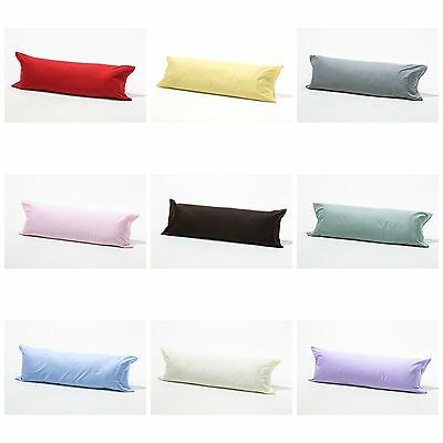 Cotton Rich Bolster With Free Pillow Case
