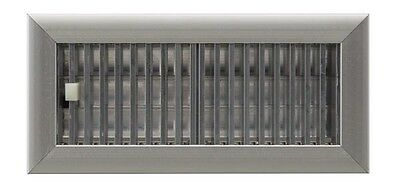 2 1/4 x 12 Aluminum HVAC A/C Floor Grille Vent Register