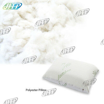 Single Quality Bamboo Elastic Memory Foam Pillow with Luxury Cover 70 x 40cm AU