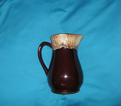 Vintage Roseville Brown Drip Pitcher Robinson Ransbottom Pottery Ohio