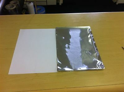 A4 Size Sheets Self Adhisive High Quality Aluminium  Foil 40 Micron