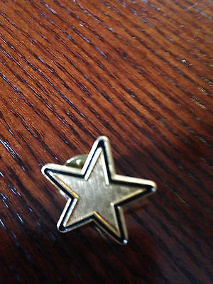 Vintage Wendy's Collectible Pin-GOLD STAR-Former Employee's Collection-#31