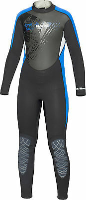 Bare Youth Kids Manta 3/2mm WetSuit Full Sun Guard Swim All Size 6-16