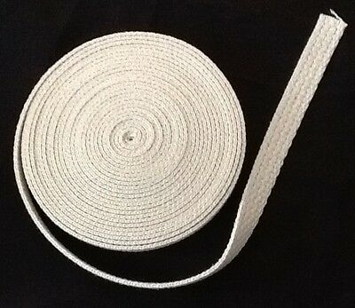 """1/2"""" Flat Cotton Wick USA 15 foot roll Oil Lamps and Lanterns New"""