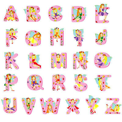Wooden Fairy Letters