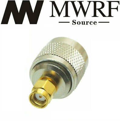 N male plug To RP-SMA male jack RF connector Adapter US Based and Fast Shipping