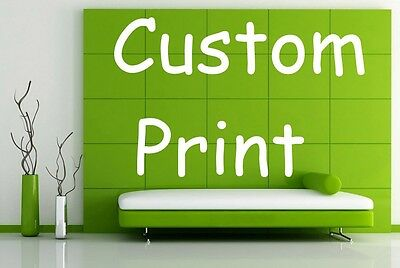 Custom Print Job Print on Waterproof Canvas Oil Painting Poster your own photo
