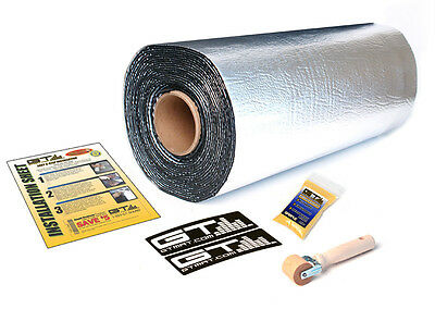 *REDUCED DISCOUNT FREE SHIPPING*GTMAT 80 mil Thick Ultra Sound Deadener Material