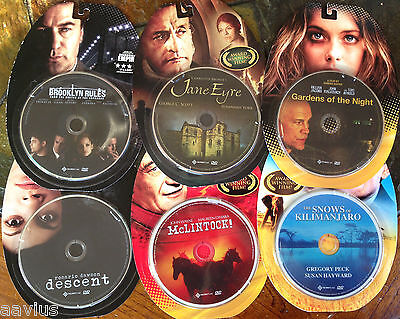 Lot of 6 Western McLINTOCK Classic & Recent Movies Films On DVD Collections Gift