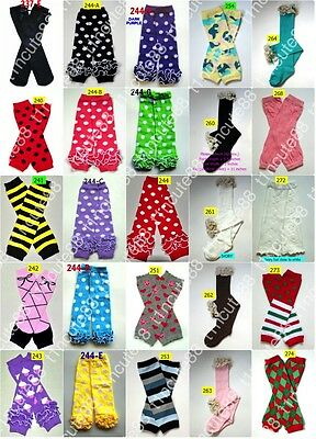 6x Baby Toddler Arm Leg Warmers Boys Girls Children Socks Legging Gym Ballet NEW
