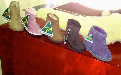 Ugg Boots for Kids Made From First Grade 100%  Sheepskin  Size 5 - 13; 1 - 3