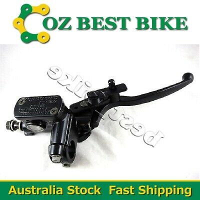 10mm Banjo Right Front Brake Lever Master Cylinder ATV Quad Pit Pro Dirt bike