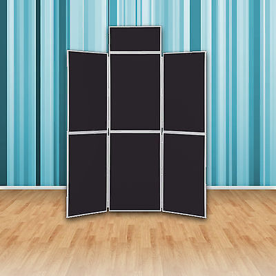 Quality Folding Display Boards - 6 Panel Exhibition Stand - Exhibition / School