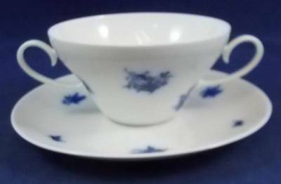 Rosenthal RHAPSODY Cream Soup and Saucer Set GREAT CONDITION