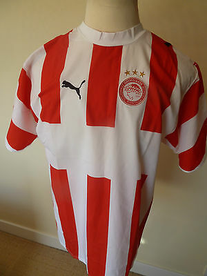 mens olympiacos shirt - size large great condition